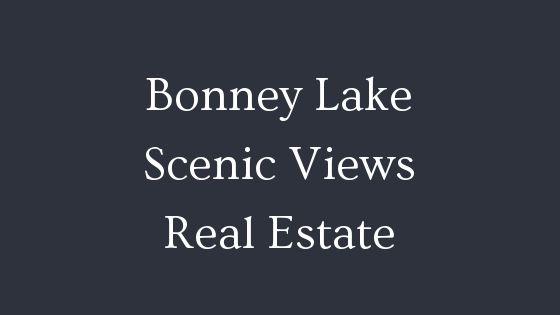 Bonney Lake scenic views real estate