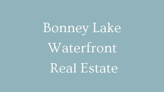 Bonney Lake waterfront real estate