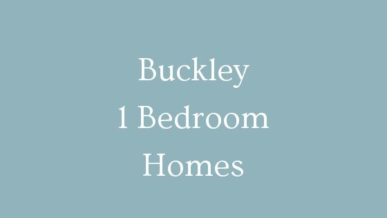 Buckley 1 Bedroom homes for sale