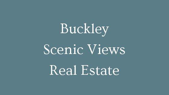 Buckley scenic views real estate