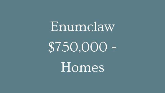Enumclaw 750000 plus homes