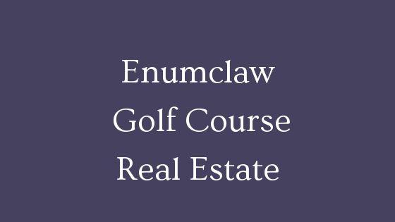 Enumclaw golf course homes