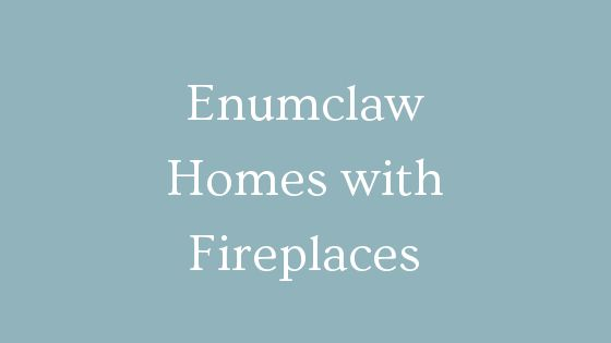 Enumclaw homes with fireplaces