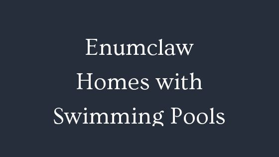 Enumclaw homes with swimming pools