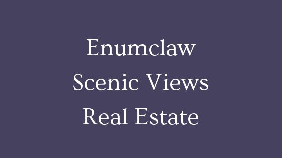 Enumclaw scenic views real estate