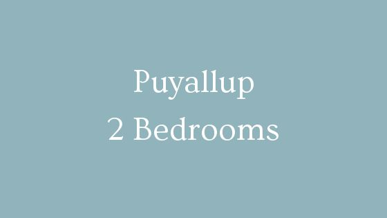 Puyallup 2 bedrooms