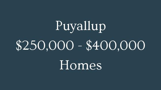 Puyallup 250000 to 400000 homes