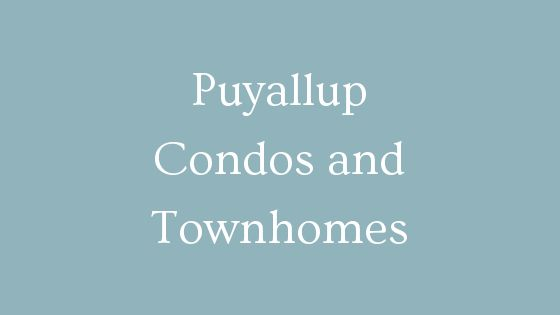 puyallup condos and townhouses