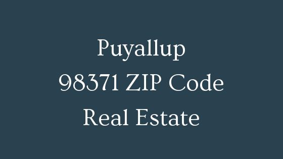 Puyallup 98371 ZIP Code Real Estate
