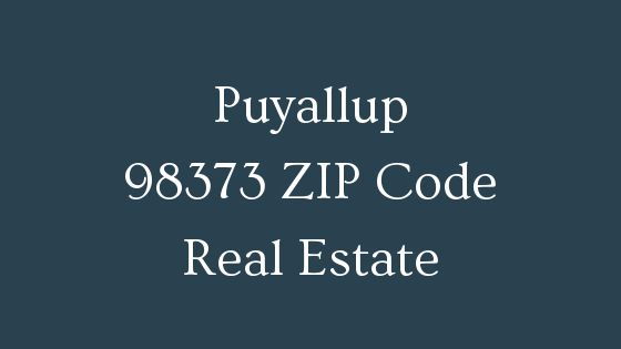 Puyallup 98373 ZIP Code Real Estate