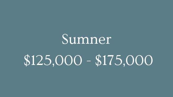 Sumner 125000 to 175000 real estate