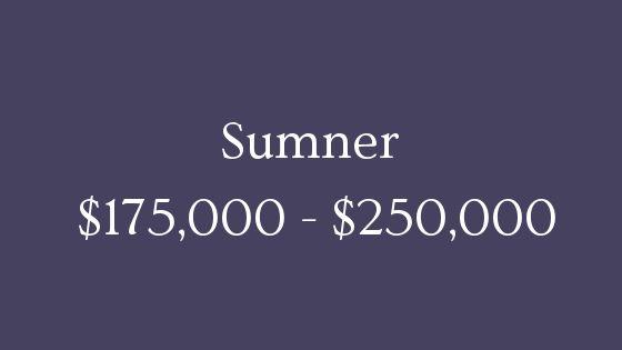 Sumner 175000 to 250000 real estate