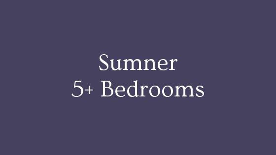 sumner 5 bedrooms real estate