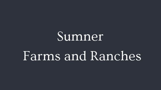 Sumner farms and ranches for sale