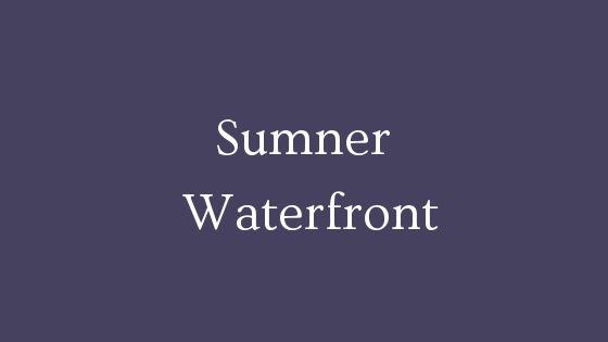 Sumner waterfront real estate