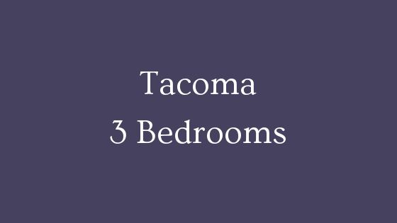 tacoma 3 bedroom real estate