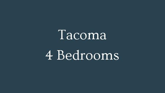 tacoma 4 bedroom real estate
