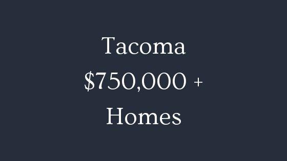 tacoma 750000 real estate