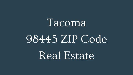 Tacoma 98445 zip code real estate
