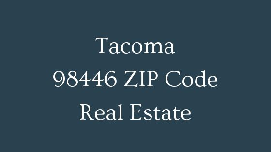 Tacoma 98446 zip code real estate