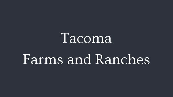 Tacoma wa farms and ranches real estate