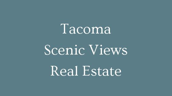 Tacoma Scenic View Real Estate