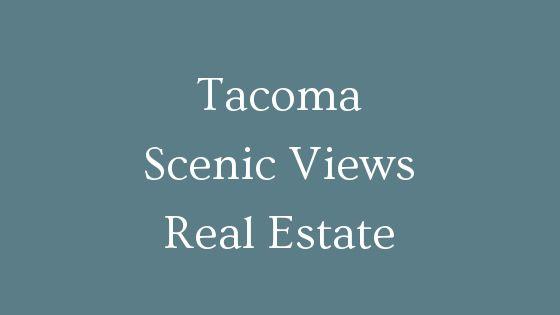 Tacoma Scenic View Real Estate