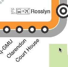 clarendon metro stop