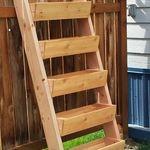 ladder gardening