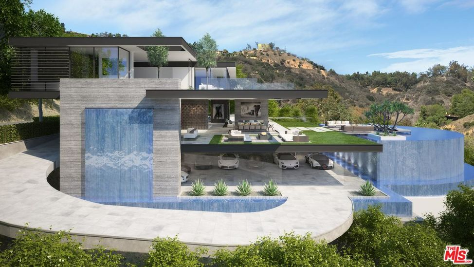 Benedict Canyon Modern Estate