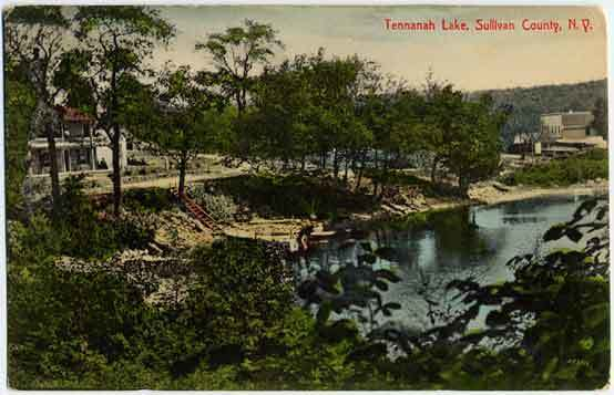 tennanah lake post card