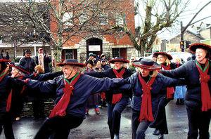 Highlands NC christmas parade