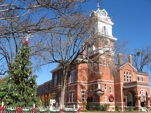 Gwinnett County Historic Courthouse, Lawrenceville GA