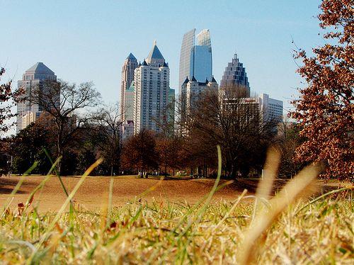 City Skyline - Atlanta, Georgia, USA