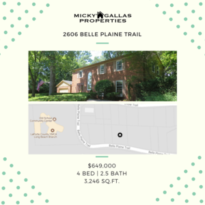 2606 Belle Plaine Trail