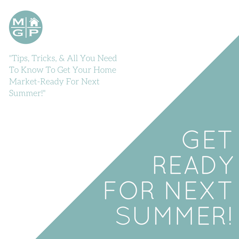Get Ready for Next Summer!