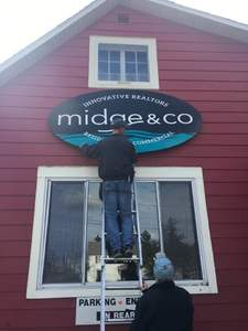 New Midge & Co Sign