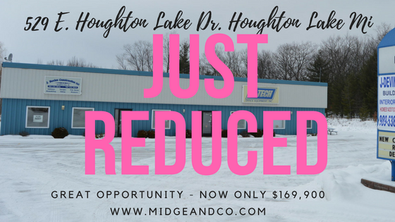 529 E. Houghton Lake Dr. Houghton Lake Price Reduced