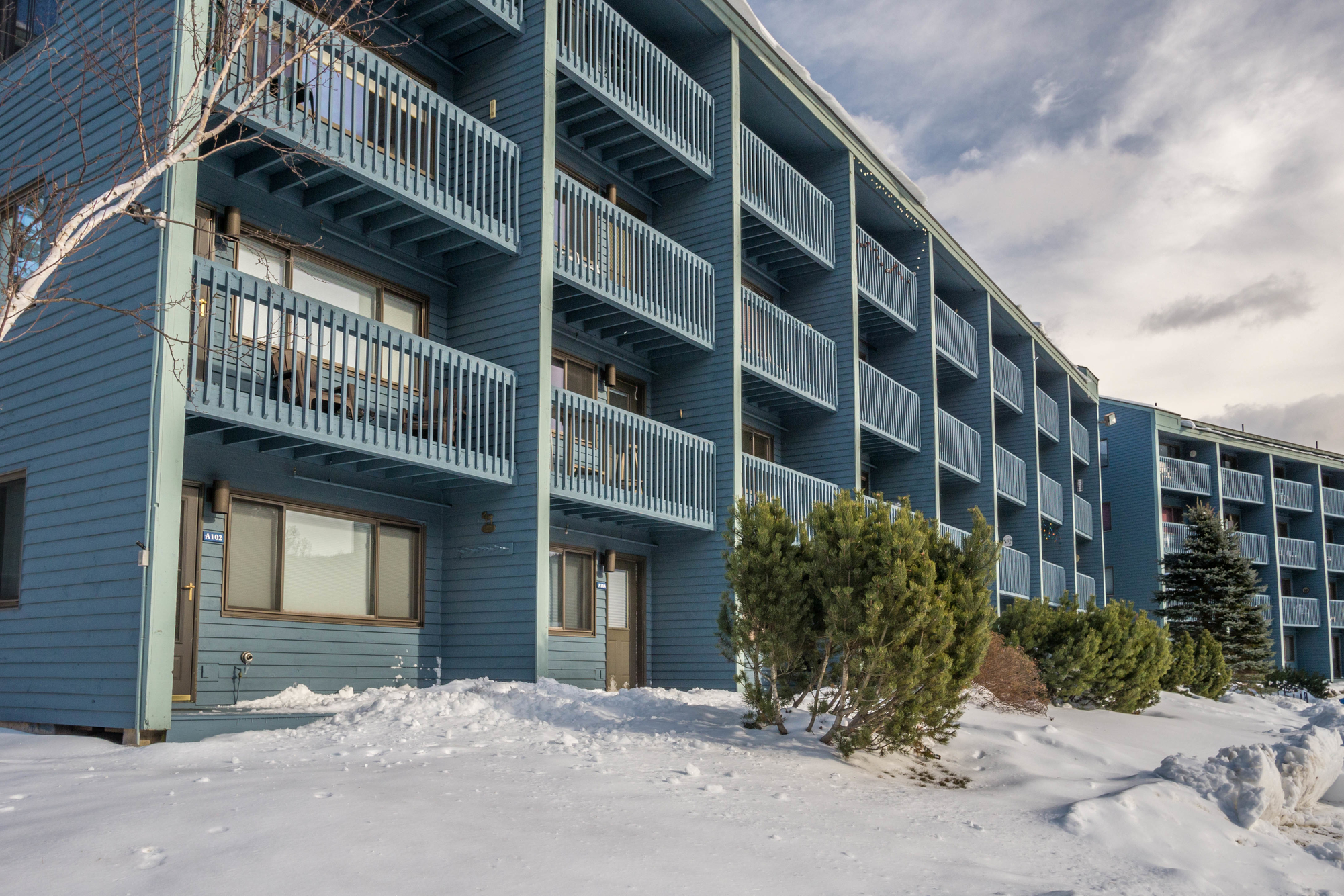 brookside condos are slopeside at sunday river in newry me