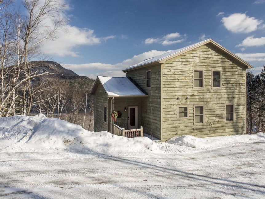 Locke Summit offers expansive views of the Sunday River valley.