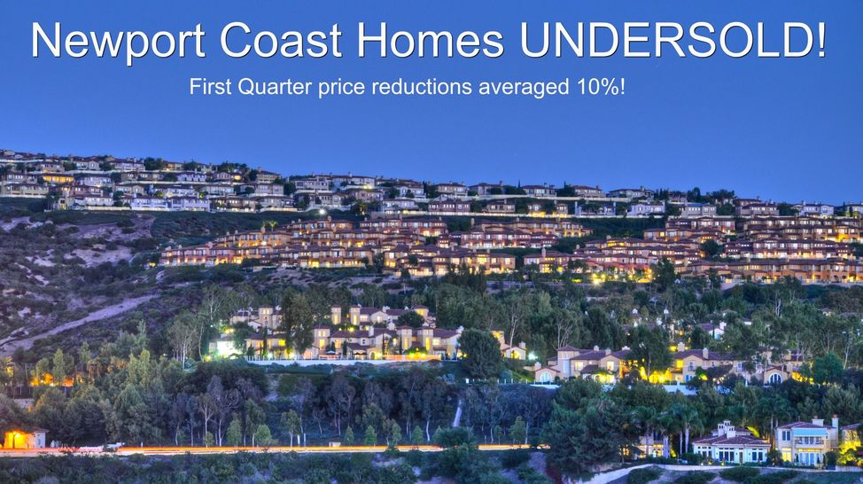 Home Sales in Newport Coast