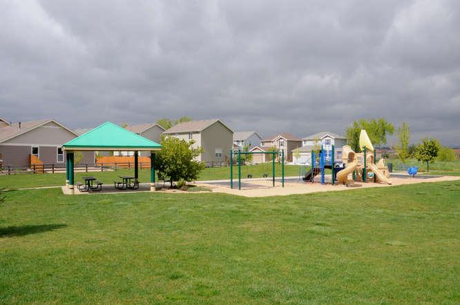 Pocket park in Grandview located in Erie Colorado
