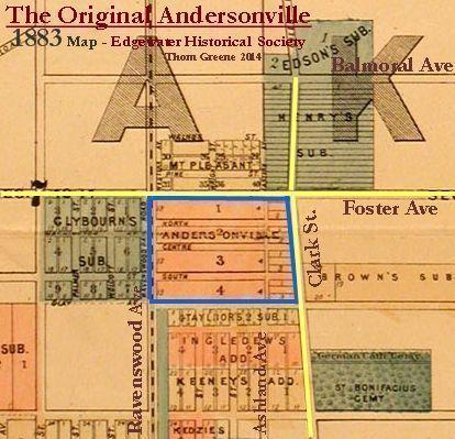 Original Andersonville Map