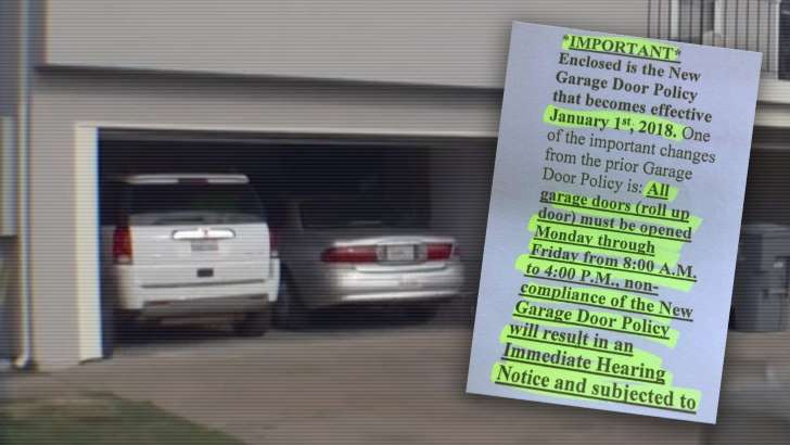 homeowners-association-enacts-insane-policy-forcing-residents-to-keep-garage-doors-open