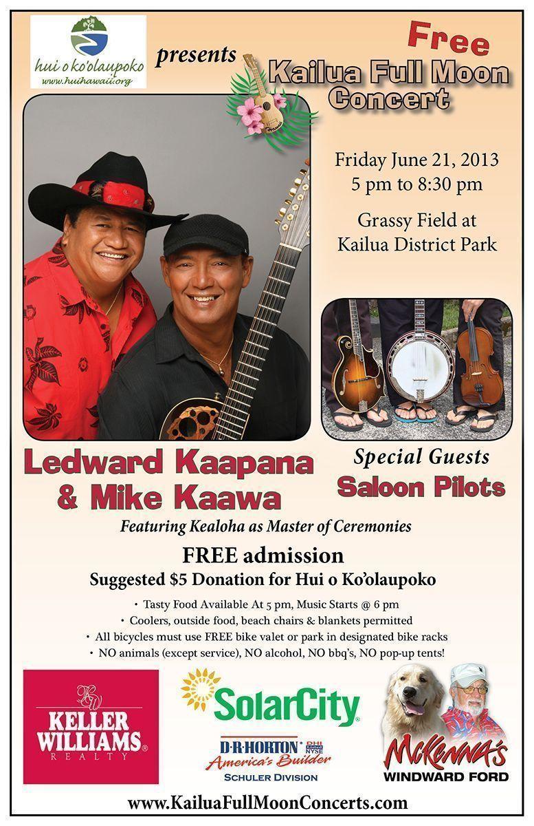 Kailua Full Moon Concert