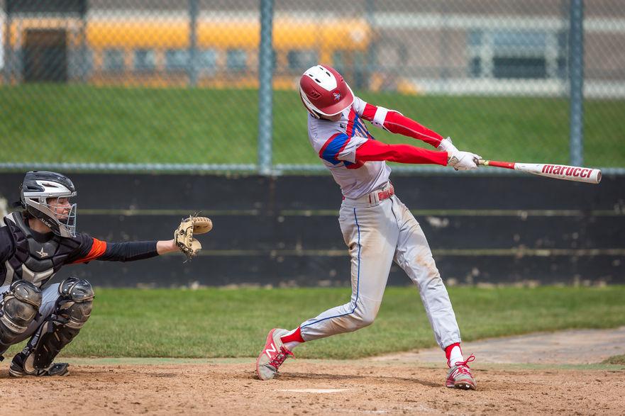 Jayce Bailey (3) hits home runs in both games
