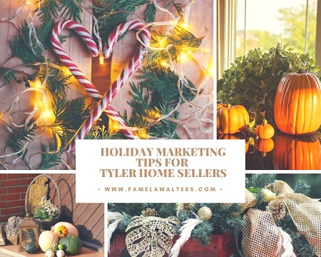You don't have to ignore the holidays when selling your Tyler home. Embrace them instead by using these holiday marketing tips for Tyler home sellers.