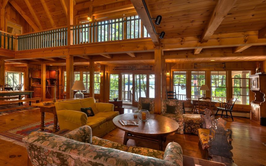 New Hampshire Lake Timber Frame