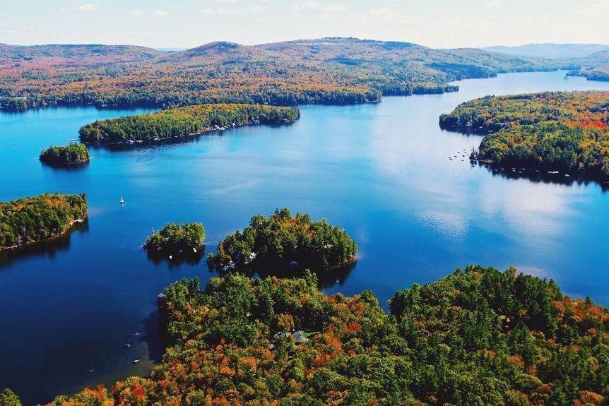 Lake Sunapee Aerial Photo