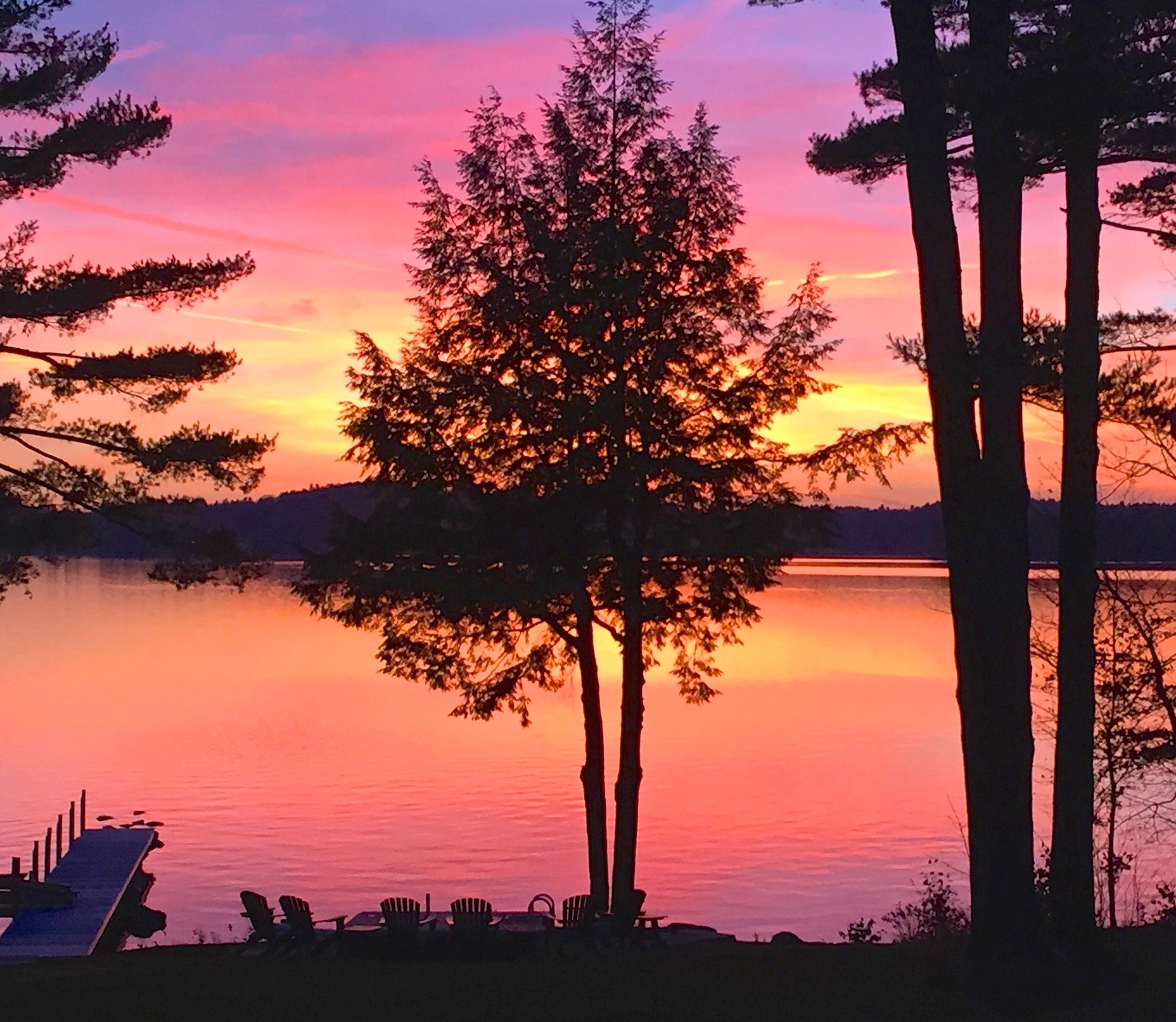 Lake Sunapee Sunset